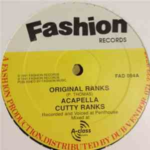 Cutty Ranks - Original Ranks