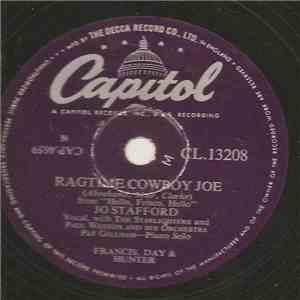 Jo Stafford With The Starlighters And Paul Weston And His Orchestra - Ragti ...