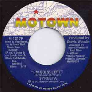 Syreeta - I'm Goin' Left / Heavy Day